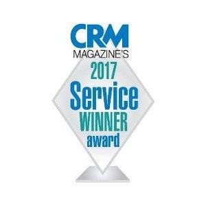 CRM Magazine 2017 服务优胜奖